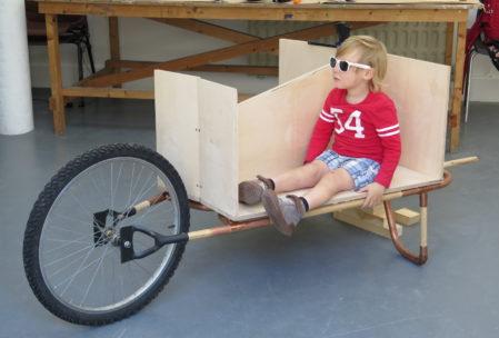 IMMA RISING Wheelbarrow