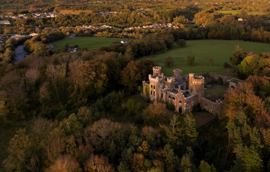Flesk Castle Killarney Autumn